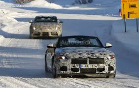 toyota supra side view bmw z5 and toyota supra spied frolicking in the snow together
