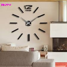 2015 new home home decor big digital wall clock modern design