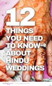 Wedding Planning For Dummies 12 Things You Need To Know About Hindu Weddings