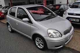 used toyota yaris cars for sale motors co uk