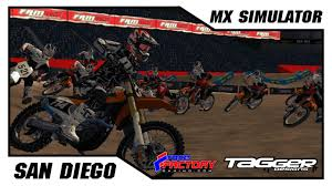 ama amatuer motocross mx simulator 2017 racefactory amateur supercross rd2 main