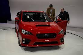 subaru wrx sport 2015 all new 2015 subaru wrx debuts in l a with 268hp 2 0 liter turbo