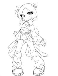 13 images of chibi cat coloring pages chibi cat coloring