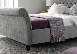 very popular interior upholstered sleigh bed u2014 derektime design