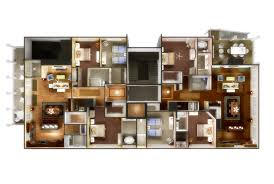 Multi Family Apartment Floor Plans 3d Floor Plan And 3d Site Plan Renderings Prevision 3d