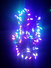 diwali decorative multicolor 45 meter rocket rice led light bulb
