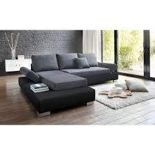 canapé d angle gris et noir canap d angle noir et gris finest canap duangle laredo with canap
