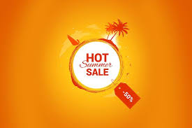 summer sale hot summer sale vector banner flyer templates creative market