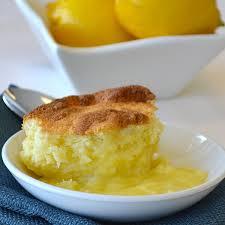 Toaster Oven Cake Recipes Baked Lemon Pudding Cake Recipe Land O U0027lakes
