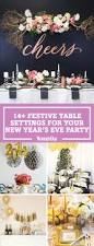 New Years Table Decorations Ideas by New Years Eve Table Decorations Festive New Year U0027s Dinner Party