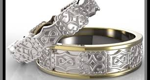 camo wedding bands his and hers wedding rings his and hers wedding rings riveting satisfying