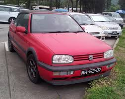 red volkswagen golf file red volkswagen golf cabriolet 1995 jpg wikimedia commons