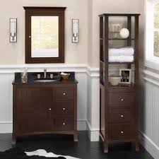 Linen Cabinets For Bathrooms Shop Bathroom Linen Towers Ronbow