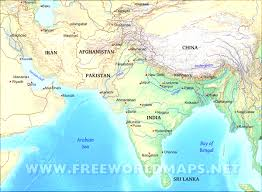 Asia Physical Map Maps Of Asia And Countries South Asia Geography Map Evenakliyat Biz