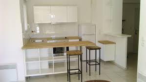 tables de cuisine ikea séparation de cuisine avec kallax ikea hack small spaces and
