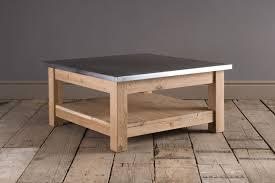 zinc coffee table pneumatic addict zinc top coffee table tutorial