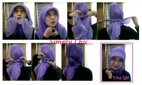 tutorial jilbab jilbab tutorial hijab menutup dada dan punggung tutorial hijab paling