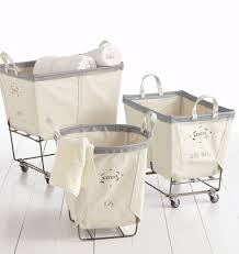 decorative laundry hampers 3 bushel steele canvas laundry bin rejuvenation