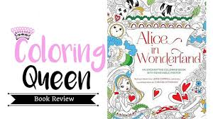 alice in wonderland an enchanting coloring book coloring book