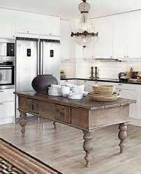antique island for kitchen this antique island in the kitchen adds a unique rustic farmhouse