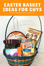 easter basket ideas for guys