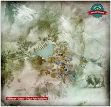 Thedas Map Frostback Basin Map Jaws Of Hakkon Dlc Dragon Age Inquisition