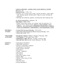 Labor And Delivery Nurse Resume Sample by Maureen Wery Resume Updated