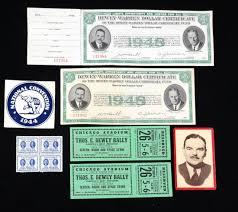thomas dewey 1944 u0026 1948 campaign ephemera