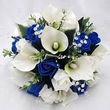 wedding flowers royal blue blue wedding bouquets ideas inspirations blue bridal bridal