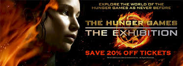 hunger games exhibition 20 off discount coupons new york
