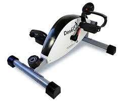 Desk Bike Pedals The Deskcycle Including Display Stand Magnetrainer Com Au