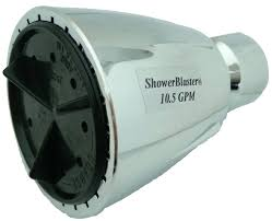 shower blaster 10 5 gpm high pressure showerblaster brand