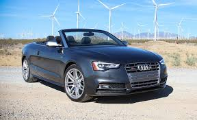 convertible audi 2016 2016 audi s5 cabriolet test review car and driver