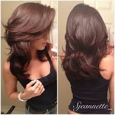 medium hair styles with layers back view this is the secret to a perfectly messy long bob long layered