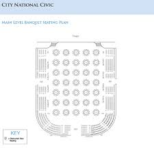 National Theatre Floor Plan Seating Charts San Jose Theaters