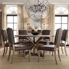 7 piece round dining room set 5282