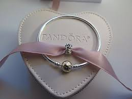 clasp bangle bracelet images Pandora set gold clasp bangle bracelet love bouquet charm heart jpg
