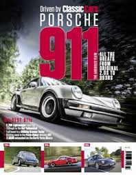 porsche 911 issues driven by cars porsche 911 buy back issues single copies