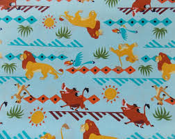 lion king wrapping paper lion king etsy