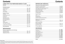 mercedes benz e class diesel 02 to 10 haynes repair manual