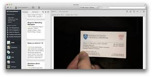 Business Card Evernote The Messy Marketer U0027s Penultimate Guide To Using Evernote