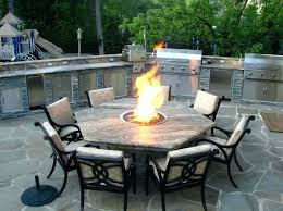 build a propane fire table build outdoor propane fire pit staround me
