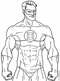 comic book coloring pages printable green lantern coloring pages for kids cool2bkids