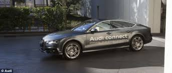 audi a7 self driving audi a7 the self parking car that can come and meet