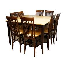 mission style dining table and chairs ebth