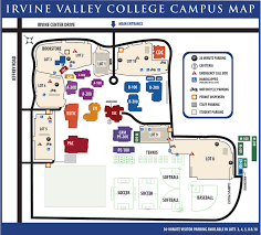 Und Campus Map Irvine Valley College Campus Map Things I Love Pinterest