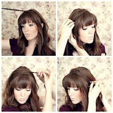 braid band braided hair band peinados braid hair hair band