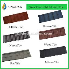 Tile Roofing Supplies Metal Roofing Supplies Colour Stone Coated Metal Roofing Tiles