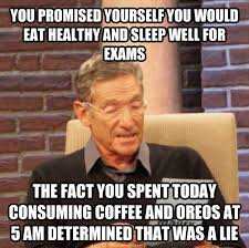 Working Out Memes - so my plans for finals week didnt exactly work out meme guy