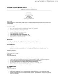 It Manager Resume Template Resume For Operations And Staff Management Susan Ireland Resumes